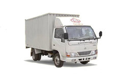 长安跨越 威豹 120马力 4X2 5.2米单排厢式载货车(SC5050XXYKD31) 卡车图片