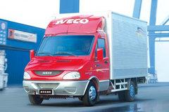 依维柯 欧霸K33 2.8L 125马力 柴油 3.6米单排厢式微卡 卡车图片