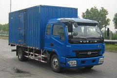 跃进中卡 140马力 4X2 厢式载货车(NJ5120XXY-DDPW) 卡车图片