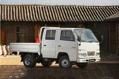 解放 福瑞 1.9L 73马力 柴油 2.1米双排栏板微卡 卡车图片