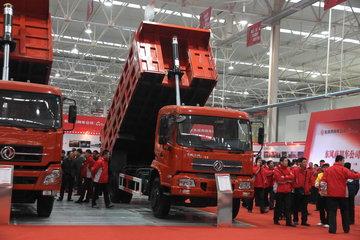 东风商用车 天锦中卡 210马力 4X2 5.4米自卸车(DFL3120B1)