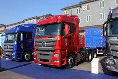 福田 欧曼GTL 6系重卡 420马力 6X4自动挡牵引车(伊顿AMT手自一体)(GTL-2490高顶平地板驾驶室)(BJ4253SNFKB-XF)