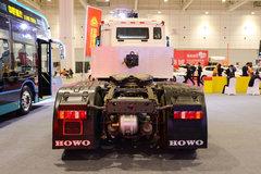 中国重汽 HOWO T5G重卡 25T 6X4无人驾驶纯电动牵引车(ZZ4257N324GZ1BEV)MAT16BG后桥