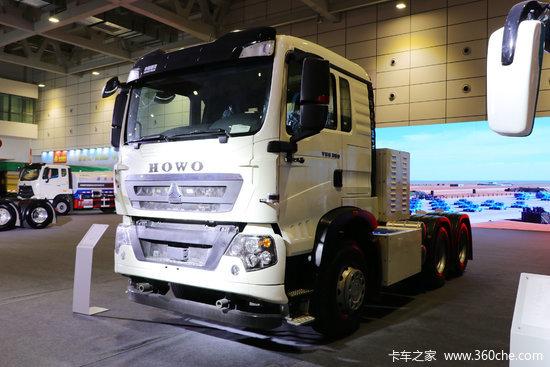 中國重汽 HOWO T5G重卡 25T 6X4無人駕駛純電動牽引車MAT16BG后橋