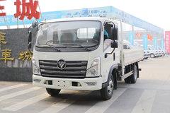 福田 时代领航 143马力 3.82米排半栏板轻卡(BJ1043V9PBA-BH) 卡车图片