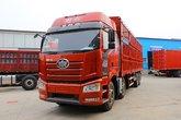一汽解放 J6P重卡 质惠版 绿通版 350马力 8X4 9.5米仓栅式载货车(CA5310CCYP66K2L7T4E5)