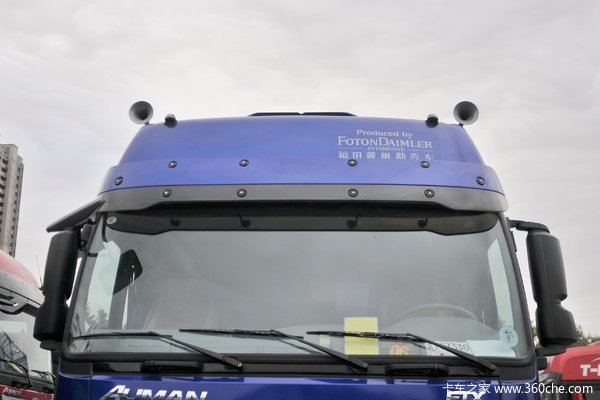 宿迁欧曼ETX245马力9.6米厢车底盘优惠