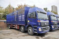 福田 欧曼ETX 5系重卡 245马力 6X2 8米仓栅式载货车(BJ5252CCY-AE) 卡车图片