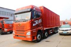 青岛解放 JH6重卡 领航版 400马力 8X4 9.5米厢式载货车(CA5310XXYP25K2L7T4E5A80)图片