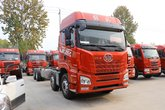 青岛解放 JH6 卓越版 420马力 8X4 9.4米冷藏车(CA5310XLCP25K2L7T4E5A80)