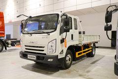 江铃 凯运强劲版 轻载型普通款 129马力 3.7米排半栏板轻卡(宽体)(JX1045TPGA25) 卡车图片