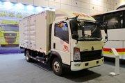 中国重汽HOWO 悍将 129马力 单排厢式轻卡