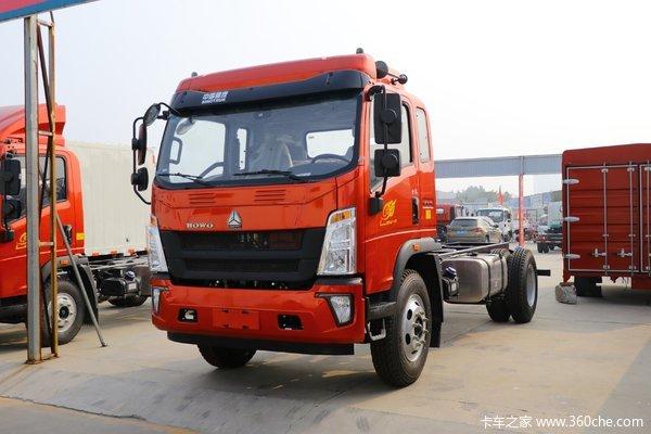 降价促销悍将4.2米载货车仅售11.90万