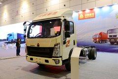 中国重汽HOWO 统帅 130马力 3.85米单排仓栅式轻卡底盘 卡车图片
