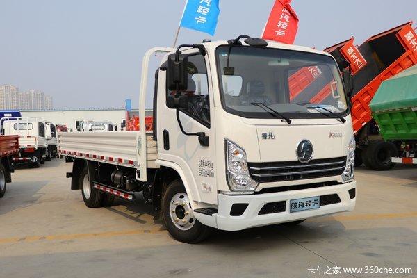 陕汽轻卡 德龙K3000 舒适版 130马力 4.18米单排栏板轻卡