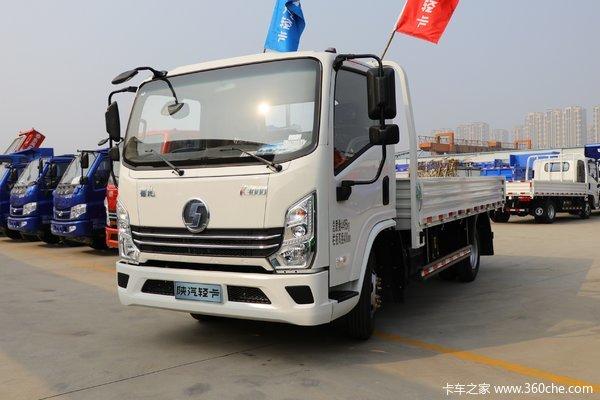 陕汽轻卡 德龙K3000 标配型 130马力 4.18米单排栏板轻卡