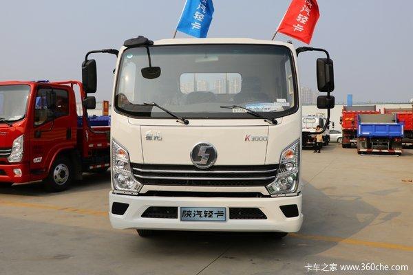 陕汽轻卡 德龙K3000 标配型 130马力 4.18米单排厢式轻卡
