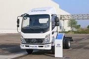 现代商用车 泓图200 116马力 4.145米单排仓栅式轻卡(CNJ5041CCYEDF33V)