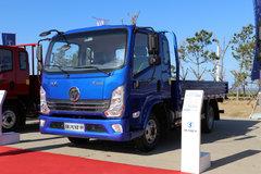 陕汽轻卡 德龙K3000 130马力 3.85米排半栏板轻卡(国六)(YTQ1080EH333)
