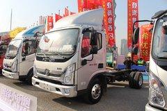 福田 奥铃速运 150马力 4.14米单排厢式轻卡(BJ5048XXY-FJ) 卡车图片