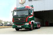 联合卡车 U⁺420重卡 420马力 6X4 危险品牵引车(QCC4252D654-4)