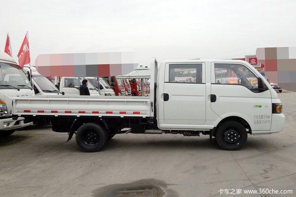 优惠0.3万宁波康铃X6双排栏板车促销中