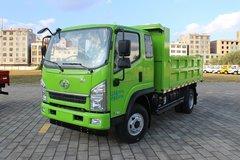 一汽红塔 解放经典5系 129马力 4X2 3.74米自卸车(苹果绿)(CA3100K35L3E5) 卡车图片