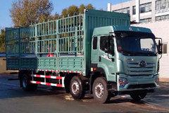 青岛解放 JK6重卡 320马力 6X2 9.8米仓栅式载货车(国六) 卡车图片