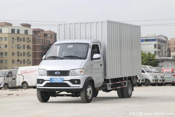 开瑞 优劲T70L 致富版 1.5L 116马力 汽油 3.4米单排厢式微卡(国六)