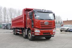 一汽解放 新J6P重卡 500马力 8X4 8米自卸车(液缓)(16挡)(CA3310P66K24L6T4AE5)
