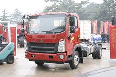 中国重汽HOWO 王系 160马力 4.15米单排栏板轻卡(国六)(ZZ1047G3315F144) 卡车图片