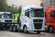 中国重汽 汕德卡SITRAK C7H重卡 600马力 6X4 AMT自动挡牵引车(国六)(ZZ4256V324HF1B)