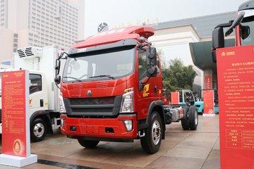 中国重汽HOWO 统帅 2019款 154马力 4.85米排半厢式轻卡(ZZ5147XXYG381CE1)