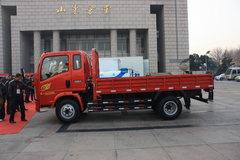 中国重汽HOWO 悍将 120马力 3.8米排半栏板轻卡(宽体) 卡车图片