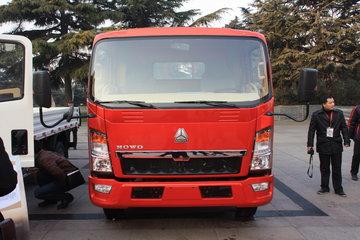 中国重汽HOWO 悍将 170马力 5.15米单排栏板载货车(ZZ1087G381CE183)