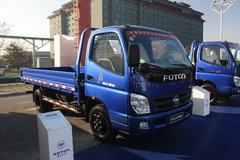福田 奥铃捷运 103马力 4.2米单排栏板轻卡 卡车图片