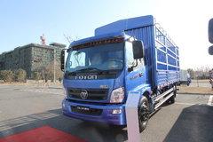 福田 奥铃CTX中卡 154马力 6.75米排半仓栅载货车(2012款)(BJ5169CCY-AB) 卡车图片