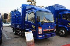 中国重汽HOWO 悍将 170马力 5.2米排半仓栅式载货车(ZZ5147CCYG421CE1)图片