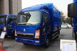 中國重汽HOWO 悍將 143馬力 3.85米排半倉柵式輕卡(ZZ5047CCYF3315E145)圖片