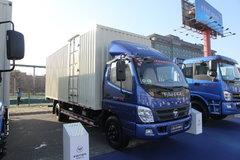 福田 奥铃CTX中卡 154马力 6.2米厢式载货车(BJ5109VEBED-FE) 卡车图片