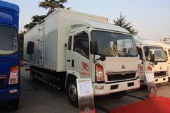 中国重汽HOWO 悍将中卡 160马力 4X2 7.8米厢式载货车(ZZ5167XXYG5615C1) 卡车图片