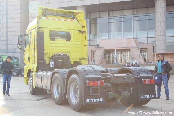 SITRAK G7牵引车贺州市火热促销中 让利高达1.5万