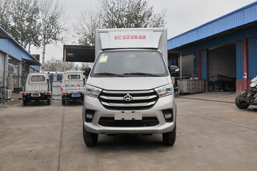 长安跨越 新豹T5 标准版 1.6L 汽油 122马力 2.535米双排厢式微卡(国六)(SC5031XXYNAS6D)