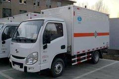 跃进 小福星S50 87马力 4X2 3.35米易燃气体厢式运输车(程力威牌)(CLW5032XRQSH5)