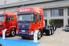 陕汽重卡 德龙X3000 轻量化版 460马力 6X4 LNG牵引车(国六)(SX4259XD4TLQ1) 卡车图片