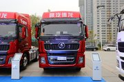 陕汽重卡 德龙X5000 460马力 6X4 LNG牵引车(国六)(SX4259XD4TLQ1)