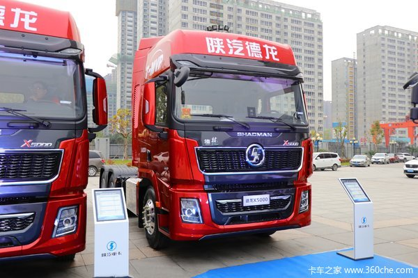 降价促销德龙X5000牵引车仅售47.53万