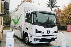 陕汽重卡 德龙L6000 16T 4X2 7.75米排半电动载货车(SX1160KR571N)255.5kWh