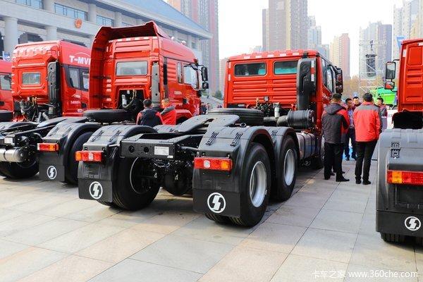 陕汽重卡 德龙X3000 钜惠版 460马力 6X4牵引车(SX4250XC4Q)