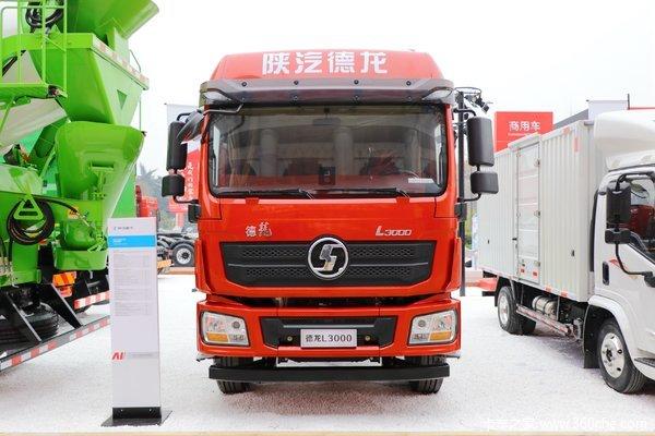 陕汽重卡 德龙L3000 220马力 4X2 6.75米排半栏板载货车(SX1180LA12)